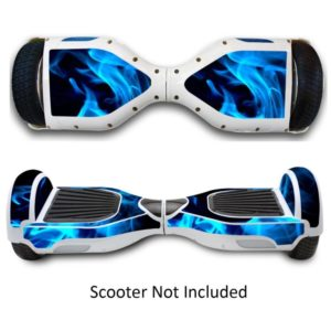 Skateboard Cover Blue+white