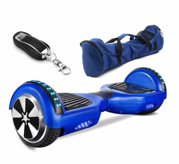 Electric Hoverboard, Self Balancing Scooter- Blue Hoverboard ...