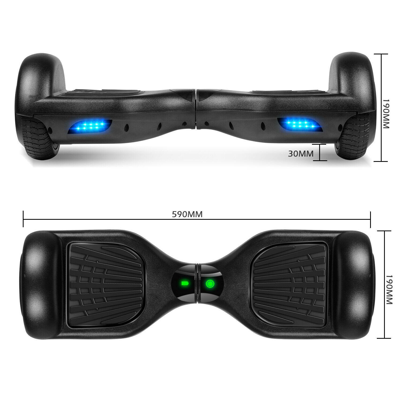 """6.5"""" Black Hoverboard"""