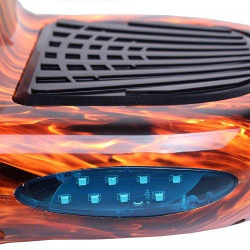 Hoverboard flame led