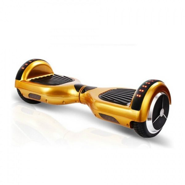 LED and bt golden colour hoverboard