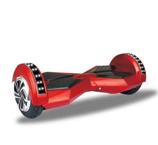 Lamborghini style red hoverboard