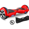 Red colour hoverboard with carry bag