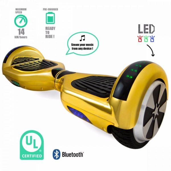 hoverboards gold features