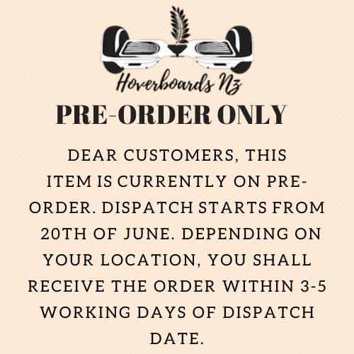Pre-order notice June 2020