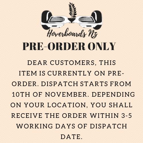 pre-order notice Nov 2020