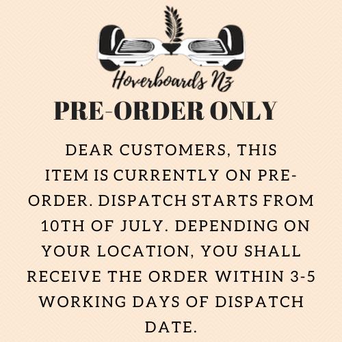 Pre-order notice July 2020