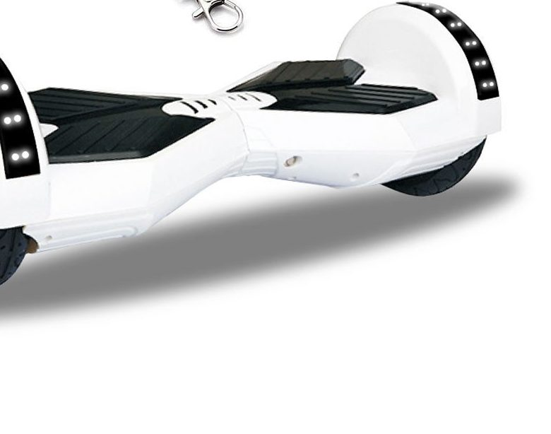 "8"" White Hoverboard"