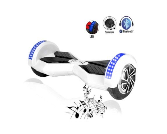 6.5 inch hoverboard white