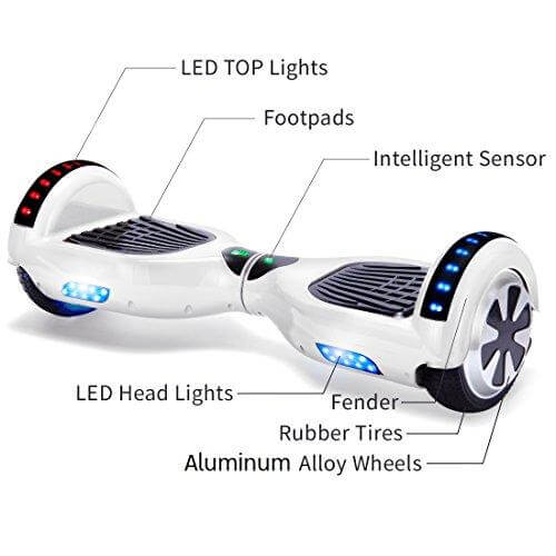 white small hoverboard explained