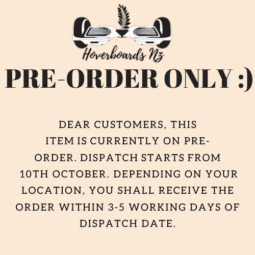 Pre-order notice