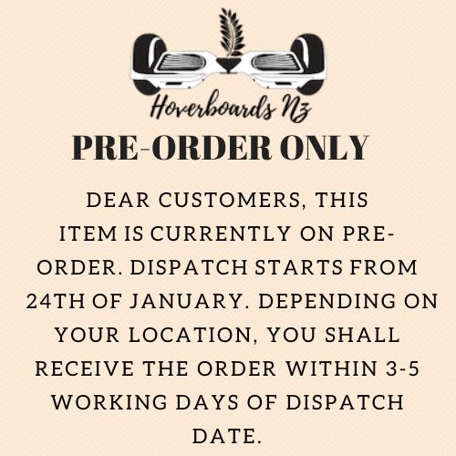 Pre order notice