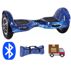 10 Inch Hoverboard - Blue galaxy