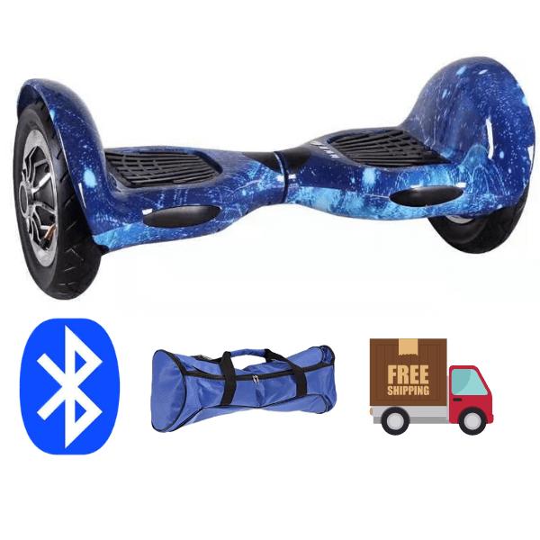 10 Inch Hoverboard – Blue galaxy