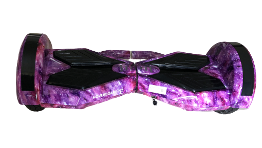 "8"" Purple Galaxy Hoverboard"
