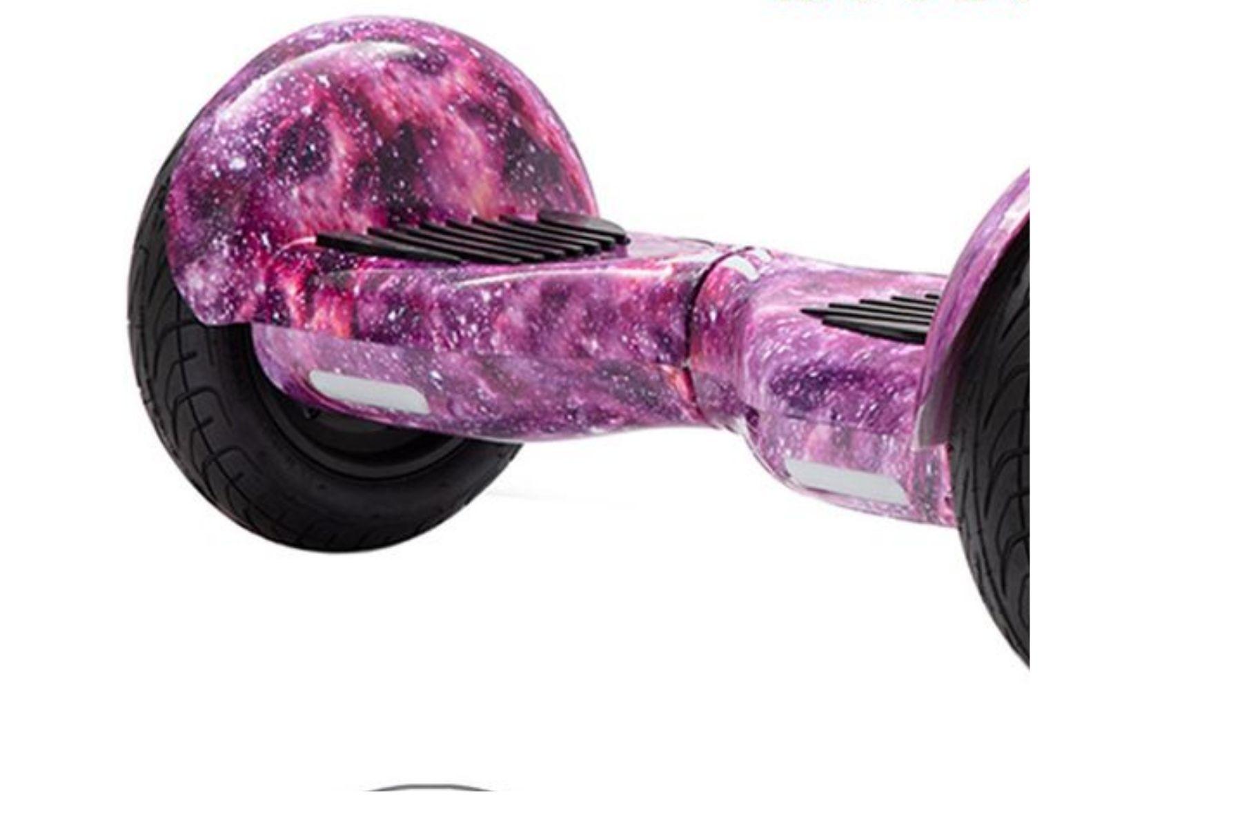 """10"""" Purple Galaxy Hoverboard"""