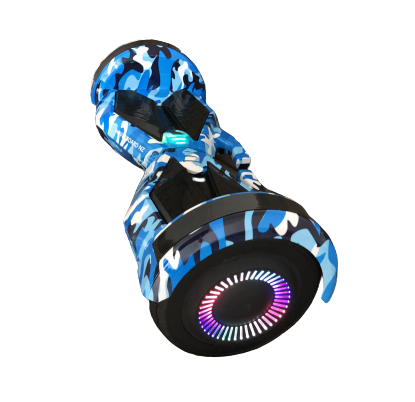 "8"" Camo Blue Hoverboard"