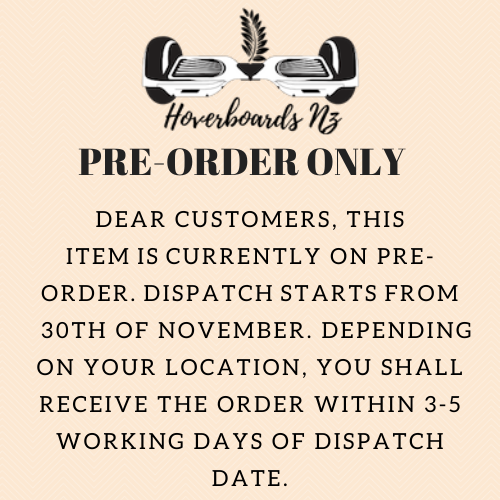 Pre-order notice 30th nov
