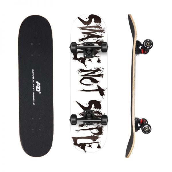 Skateboard white