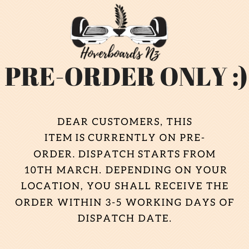 Pre-order notice March